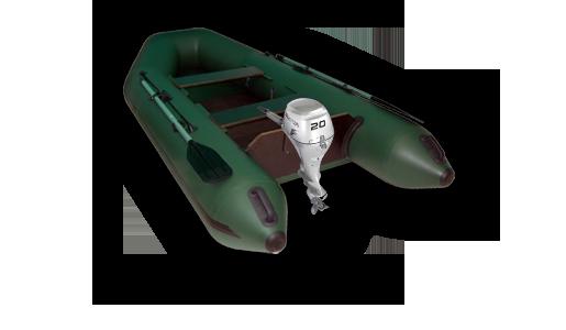 Моторно-гребные лодки ПВХ